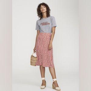 Faithfull the Brand Floral Midi Skirt